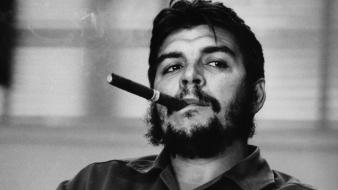 Guevara tobacco cigars liberty leading the people wallpaper