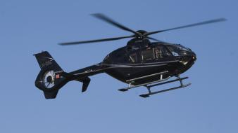 Helicopters airshow eurocopter ec135 wallpaper