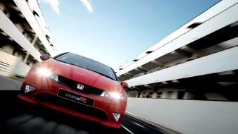 Honda civic type-r front view type r wallpaper
