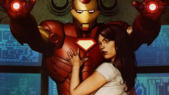 Iron man comics marvel pepper potts Wallpaper