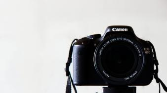 Lens cameras canon white background eos 600d wallpaper