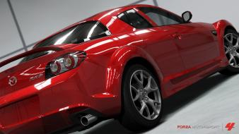 Mazda rx-8 red cars forza motorsport 4 Wallpaper