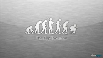 Men human evolution Wallpaper