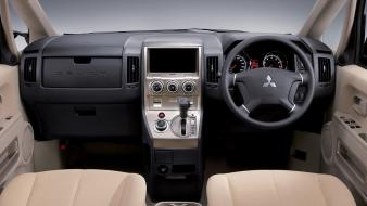 Mitsubishi car interiors delica d5 wallpaper