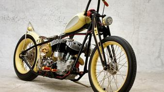 Motorbikes assembled bikes choppers Wallpaper