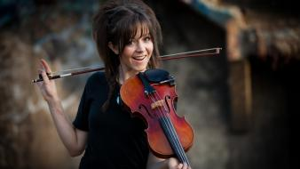Music violins dubstep lindsey stirling wallpaper
