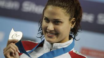 Olympics hungarian olympic 2012 zsuzsanna jakabos swimmer wallpaper