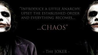 Quotes the joker batman dark knight wallpaper
