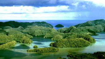 Rock islands palau wallpaper