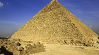 Stones giza great pyramid wallpaper