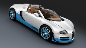 Studio bugatti veyron supercars grand sport light blue wallpaper