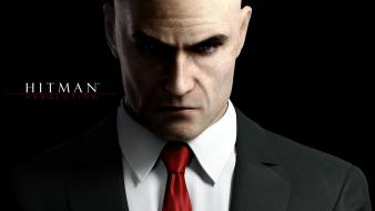 Suit men hitman agent 47 background absolution wallpaper