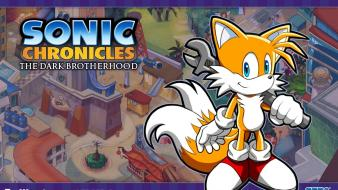Tails sonic wallpaper