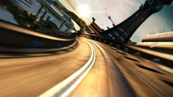 Video games cars cgi roads wipeout hd wallpaper