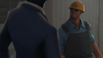 Video games engineer tf2 team fortress 2 wallpaper