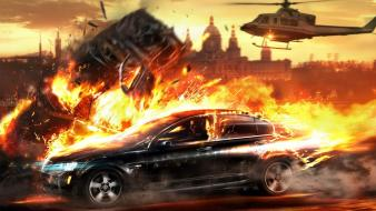 Video games vin diesel wheelman widescreen Wallpaper