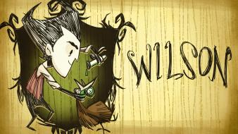 Wilson male video games wallpaper