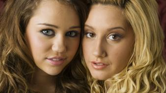 Women miley cyrus actress celebrity ashley tisdale singers wallpaper