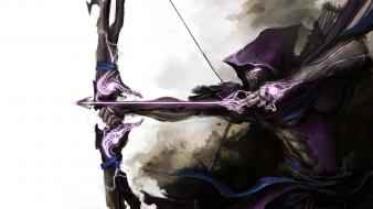 Arrows marvel bow (weapon) thedurrrrian (deviant artist) wallpaper