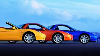 Blue cars honda nsx vehicles wallpaper