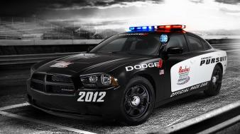 Cars day police front dodge charger Wallpaper