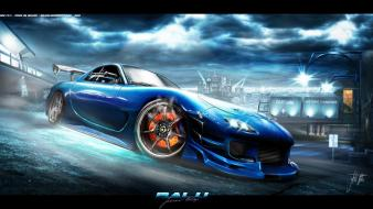 Cars mazda tuning 3d wallpaper