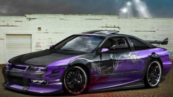 Cars opel tuning 3d Wallpaper