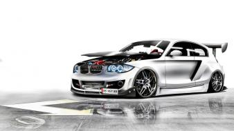 Cars tuning 3d bmw 1 series wallpaper