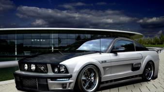 Cars tuning ford mustang 2008 3d tuned wallpaper