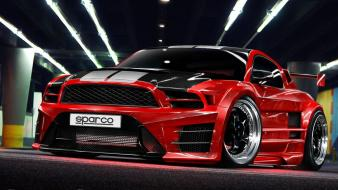 Cars tuning ford mustang 3d shelby gt500 wallpaper