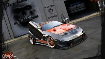 Cars tuning nissan 300zx 3d Wallpaper
