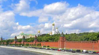 Cityscapes buildings moscow wallpaper