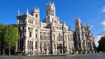 Cityscapes madrid wallpaper