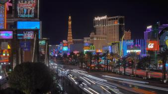 Cityscapes night las vegas usa nevada wallpaper