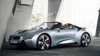 Concept art cars convertible i8 side future Wallpaper
