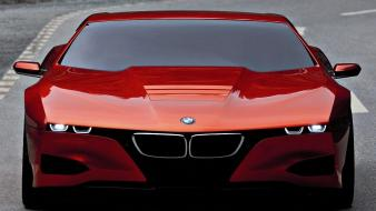 Concept art cars sports orange m1 future Wallpaper