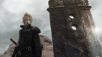 Final fantasy vii advent children artwork wallpaper