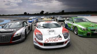 Ford lamborghini audi track racing aston martin Wallpaper
