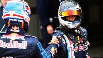 Formula one red bull sebastian vettel mark webber wallpaper
