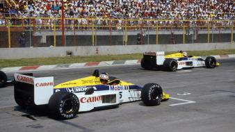 Formula one williams nelson piquet nigel mansell wallpaper