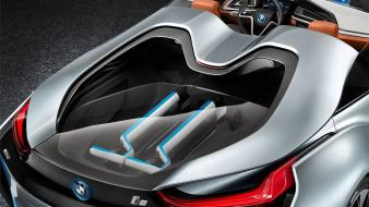 Futuristic concept art cars convertible i8 future Wallpaper