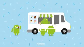 Ice cream android sandwich wallpaper
