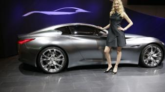 Infiniti essence concept car show infinity wallpaper