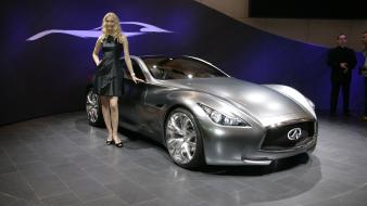 Infiniti essence concept car show wallpaper
