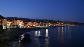 Landscapes italy vacation riviera sealife liguria Wallpaper