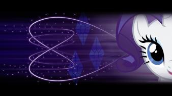 Lights my little pony rarity wallpaper