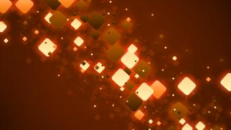 Lights orange background wallpaper