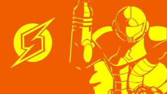 Metroid abstract video games wallpaper