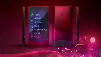 Music technology zune windows phone wallpaper