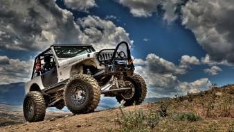 Nature cars jeep hdr photography skyscapes wrangler Wallpaper